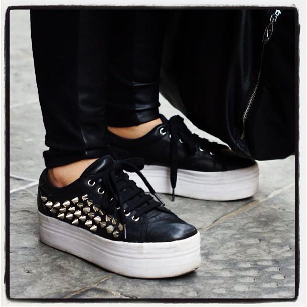 scarpe converse suola alta donna