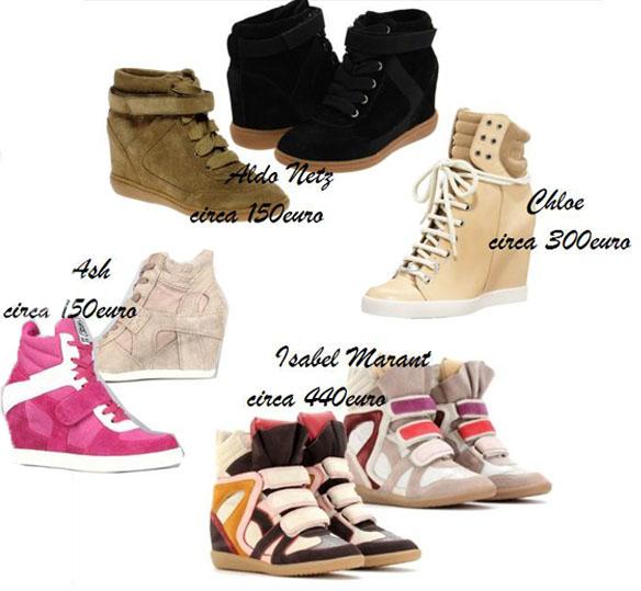 scarpe nike con tacco interno