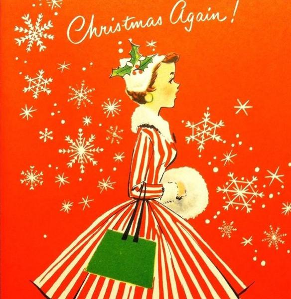 Immagini Cartoline Natale Vintage.Cartoline Natalizie Vintage I Hate Bananas